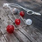Cascading Bubbles Necklace..