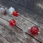 Cascading bubbles necklace ..